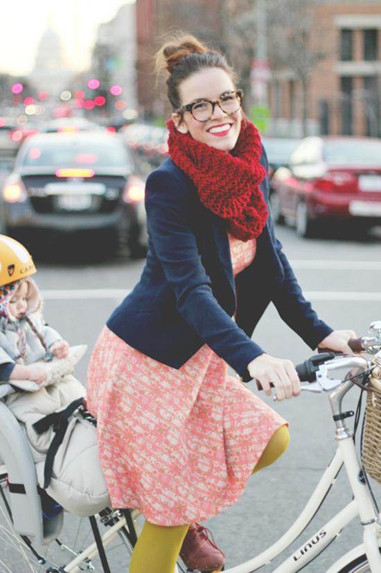 chunky knit, scarf