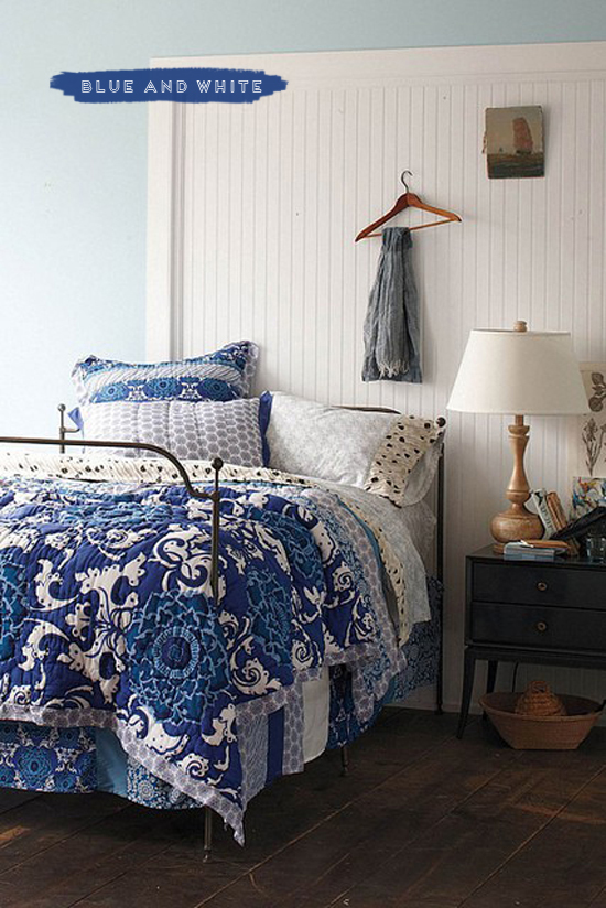 blue and white bedding cobalt blue white blue and