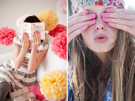 pink nails, nail polish