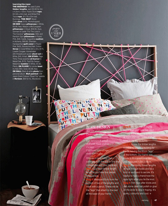 diy bed headboard plans