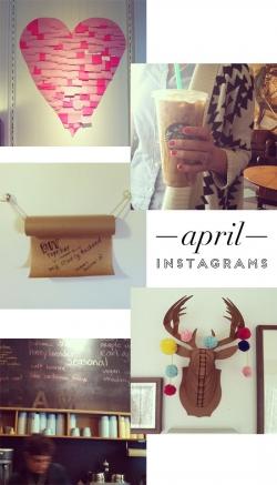 April Instagrams | At Home in Love