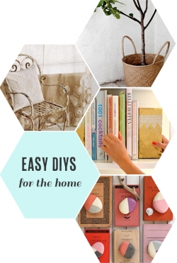 Easy DIYs for the home | At Home in Love
