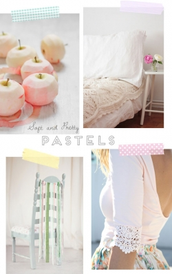 Soft and pretty pastels | At Home in Love
