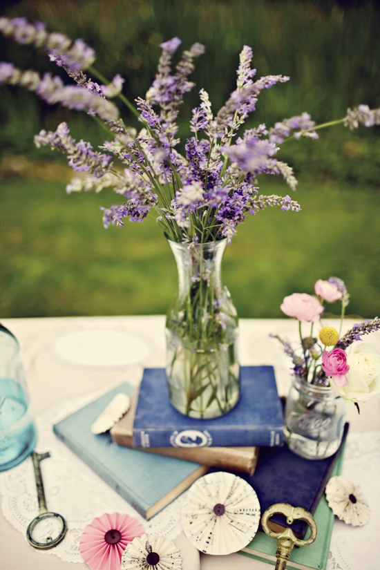 Lovely lavender at home in love