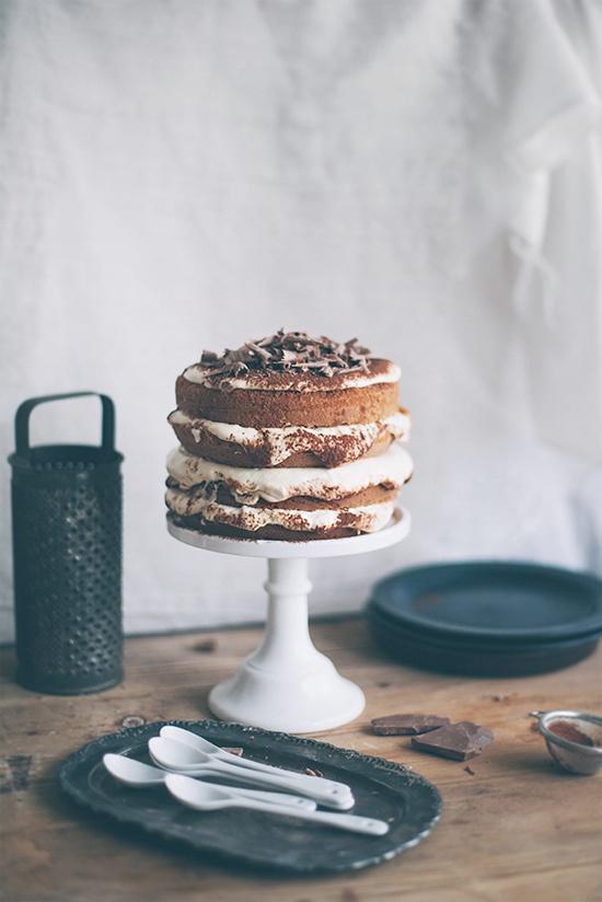 tiramisu naked cake