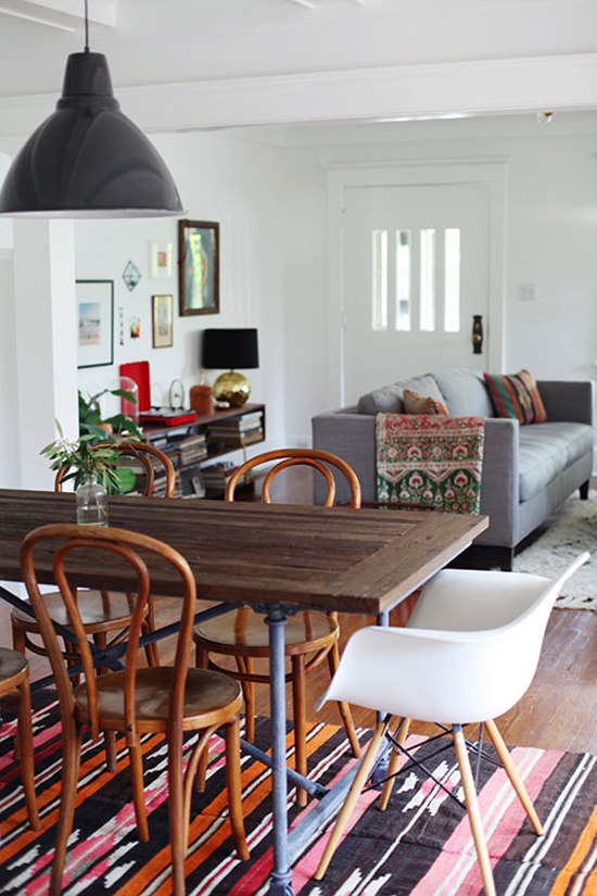 Tip for decorating a rental #6: Don't wait to invest in furniture you love