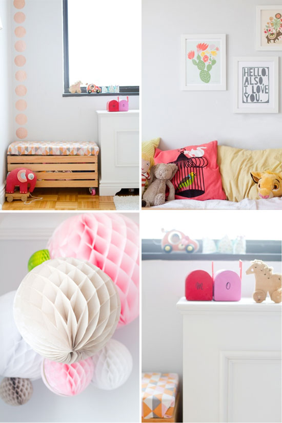 A cute little girls' room that isn't too childish