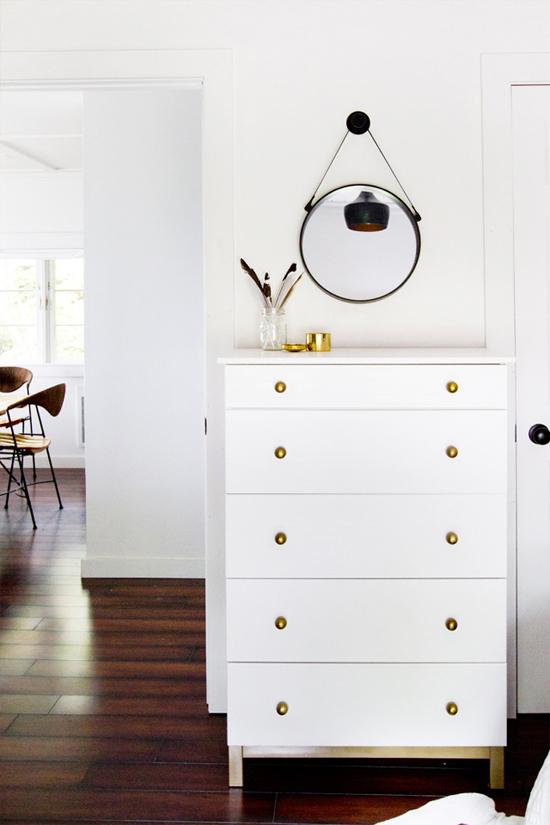 Transformed Ikea dresser