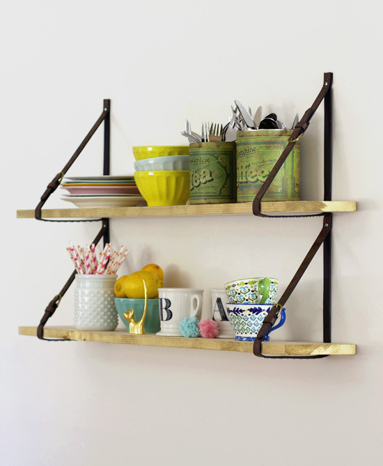 Diy Shelves | at Home in Love