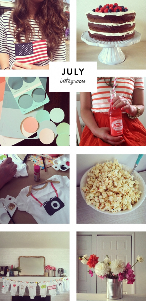 July Instagrams | At Home in Love