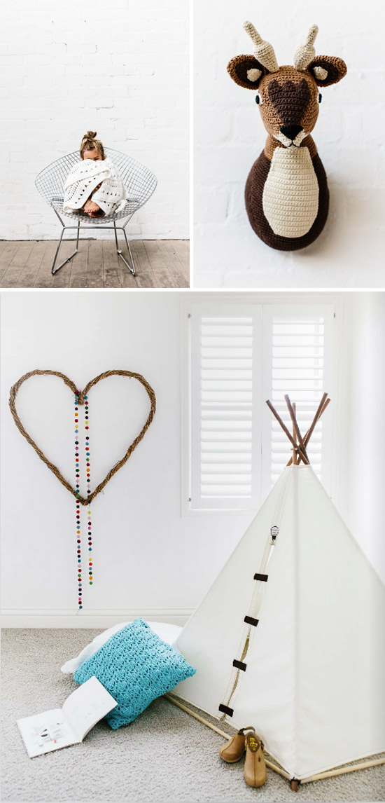 Kid's rooms, photographed by Tara Pearce