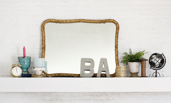 Mantel | At Home in Love