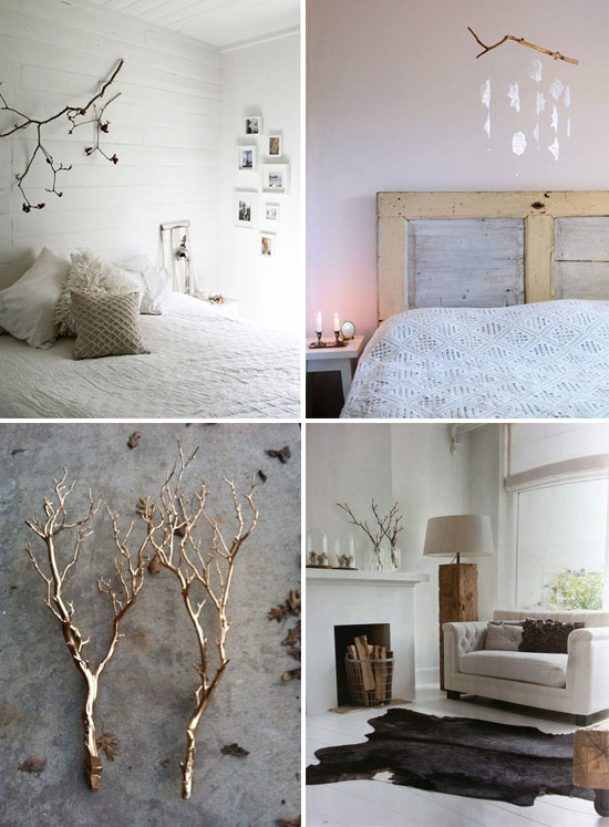 Http Www Athomeinlove Com Branches As Decor
