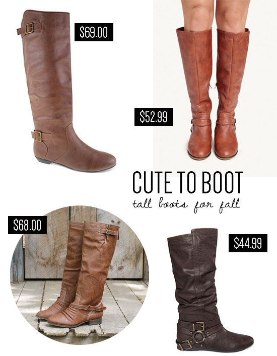 Cute Boots Cute to boot: tall boots for
