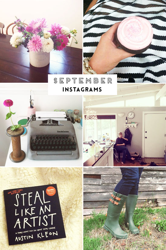 September Instagrams | At Home in Love