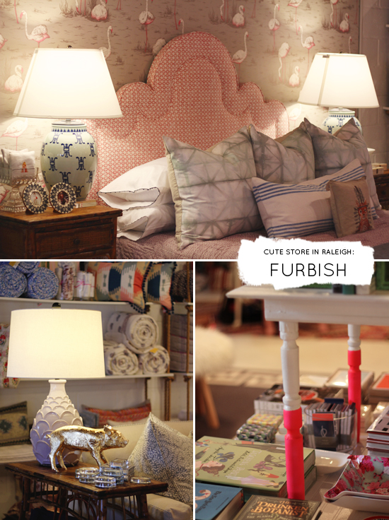 Cute store in Raleigh: Furbish