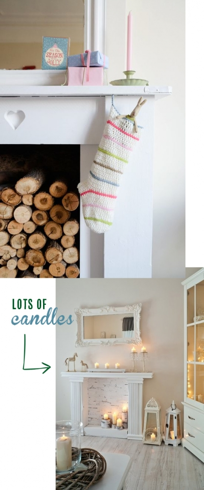 Elements to a cozy winter // Lots of candles