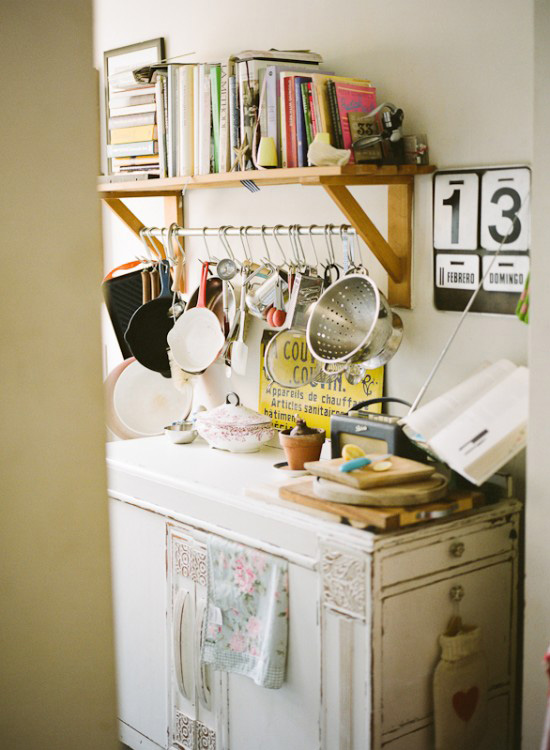 Katharine Peachey's vintage cottage kitchen