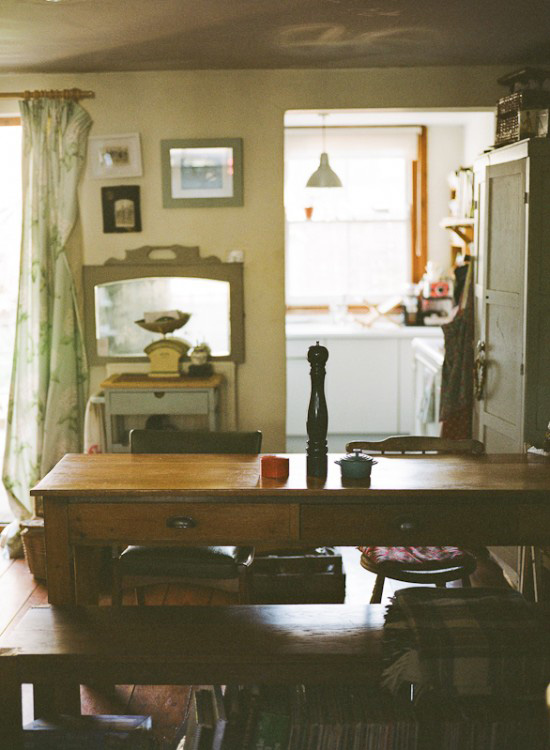 Katharine Peachey's vintage cottage | At Home in Love