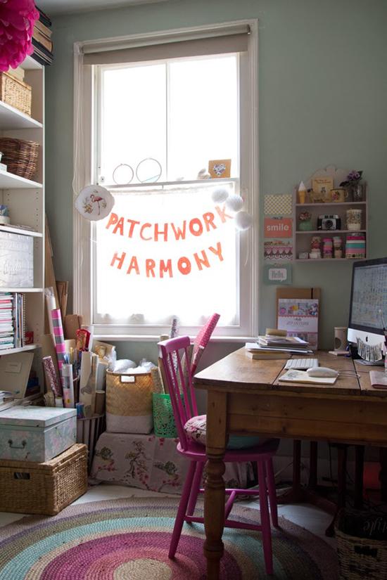 Patchwork Harmony office