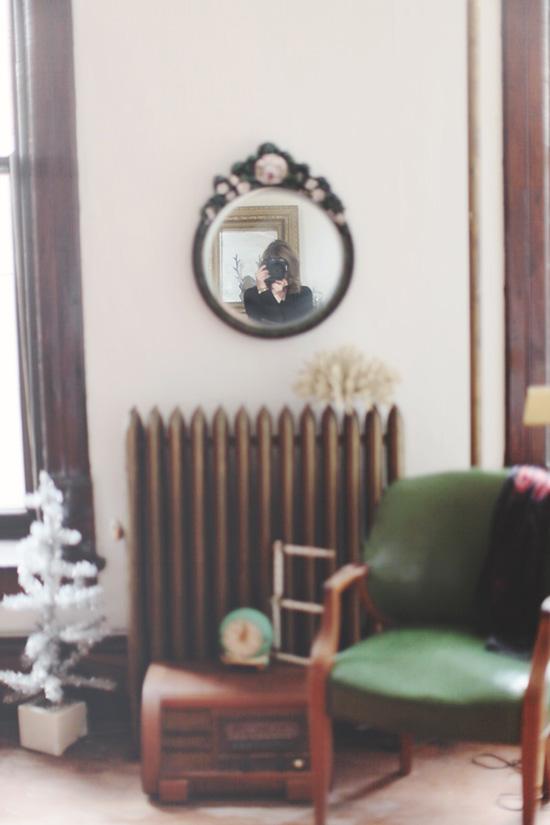 Elisabeth Eden's vintage-filled photography studio