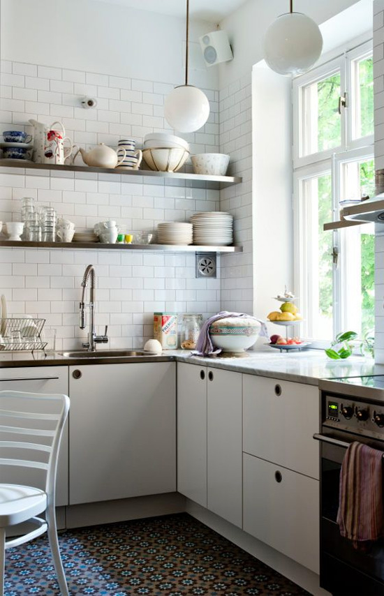 Open Shelving 7 Tips for Getting it Right At Home In Love