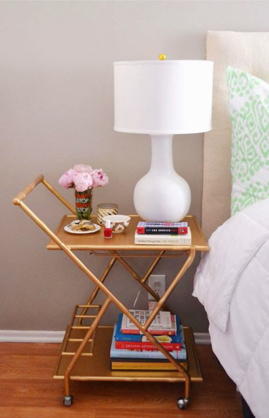 Bart cart bedside table