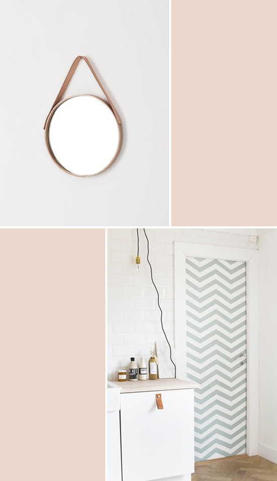A round-up of pale leather ideas // At Home in Love