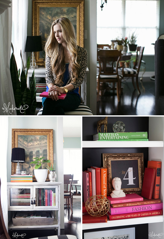 The Makerista house tour // At Home in Love