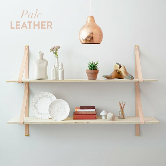 Pale leather // At Home in Love