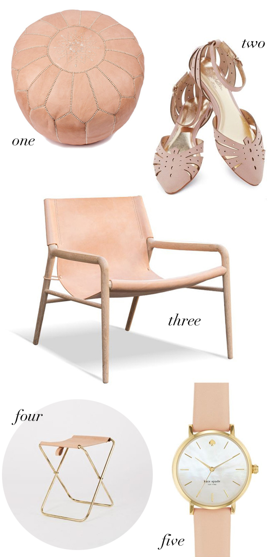 Shopping for: Pale Leather // At Home in Love