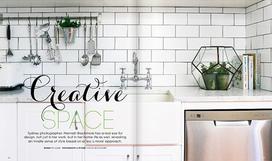 Creative space // Hannah Blackmore Photography