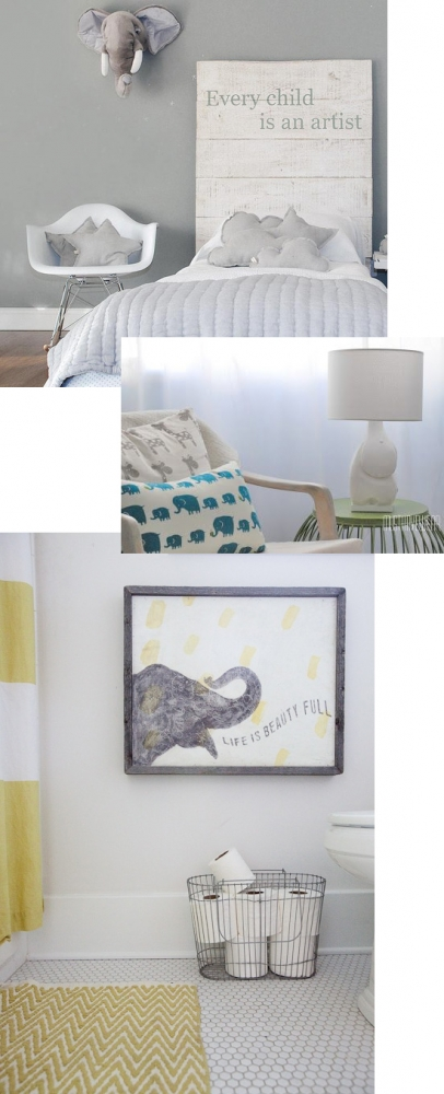 Decorating with elephants // At Home in Love