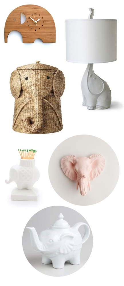 The elephant in the room: Decorating with elephants