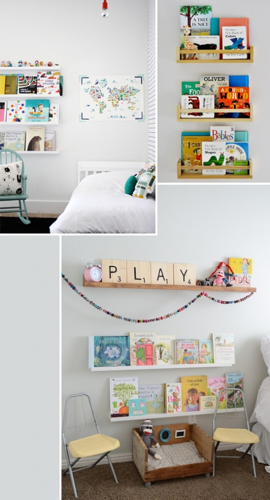 Kid's rooms with little reading nooks