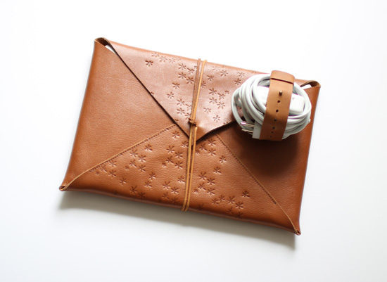 Leather tech accessories