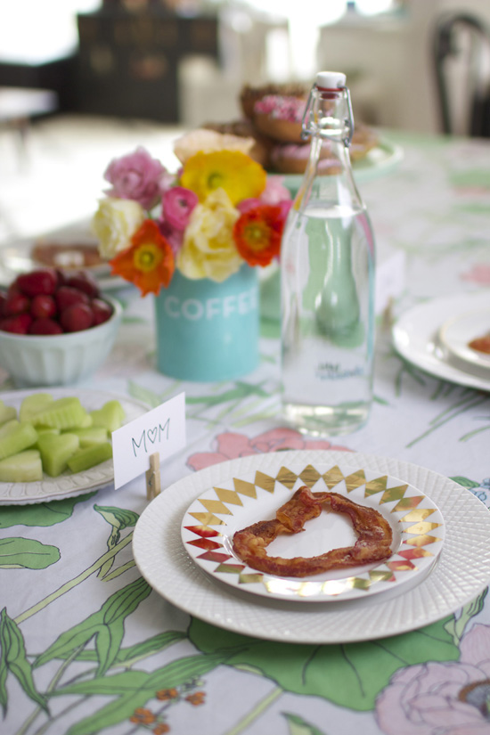 Mother's Day Brunch // At Home in Love