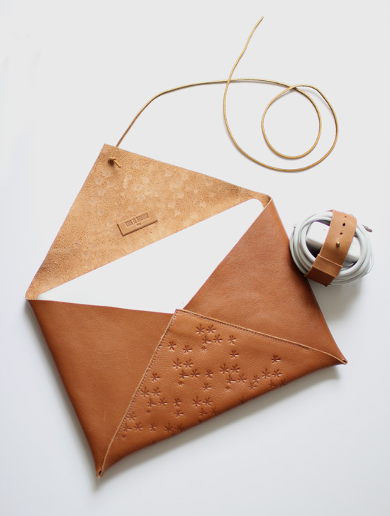 Gorgeous leather tech goods