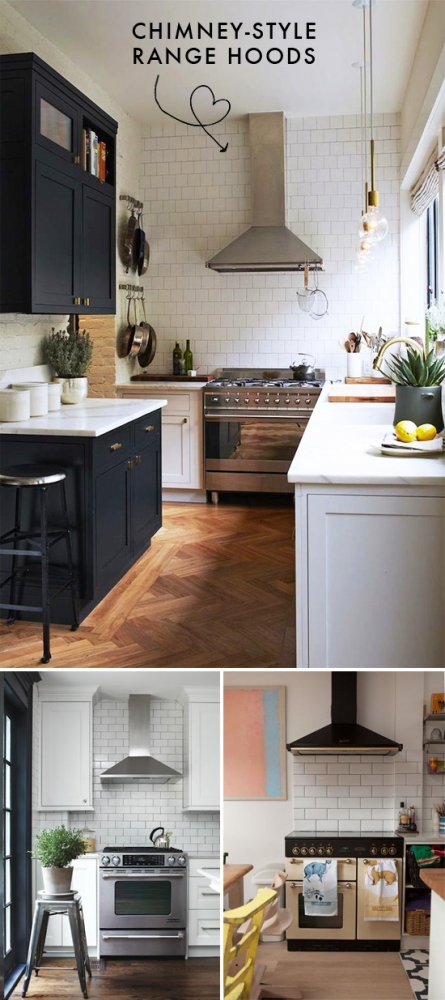 Chimney Style Range Hoods ~ Chimney style range hoods at home in love