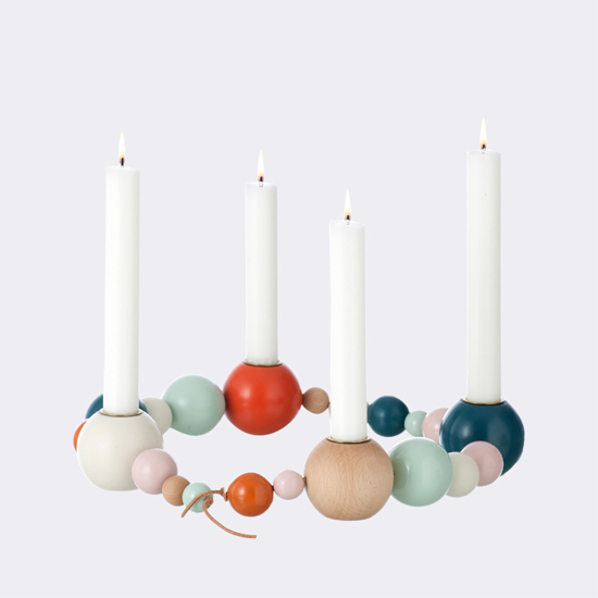 Ferm Living candleholder string -- could be a fun DIY
