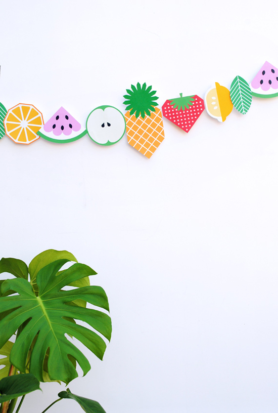 Cute fruit: Fruit-inspired DIYs