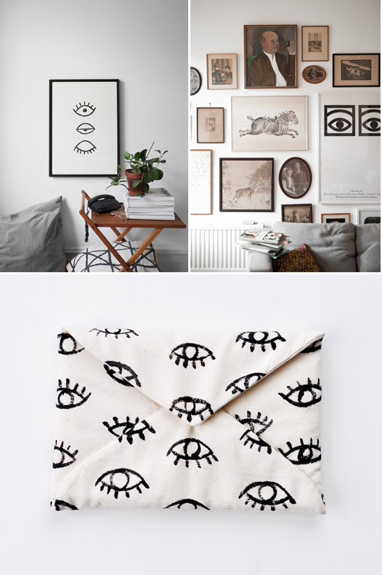 Eye spy: Pattern trend // At Home in Love