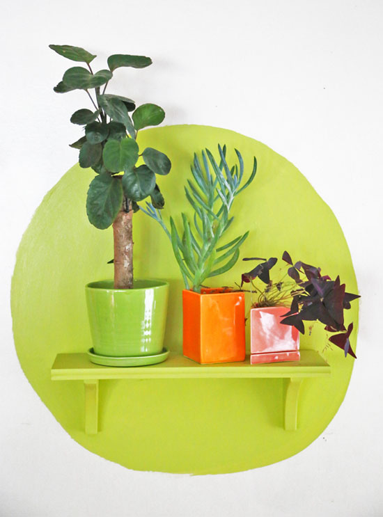 Trend to try: Shapes & shelves