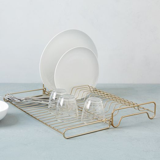 Pretty dish rack from West Elm