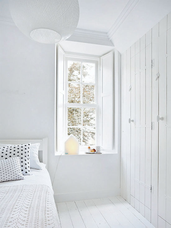 All White Rooms At Home In Love