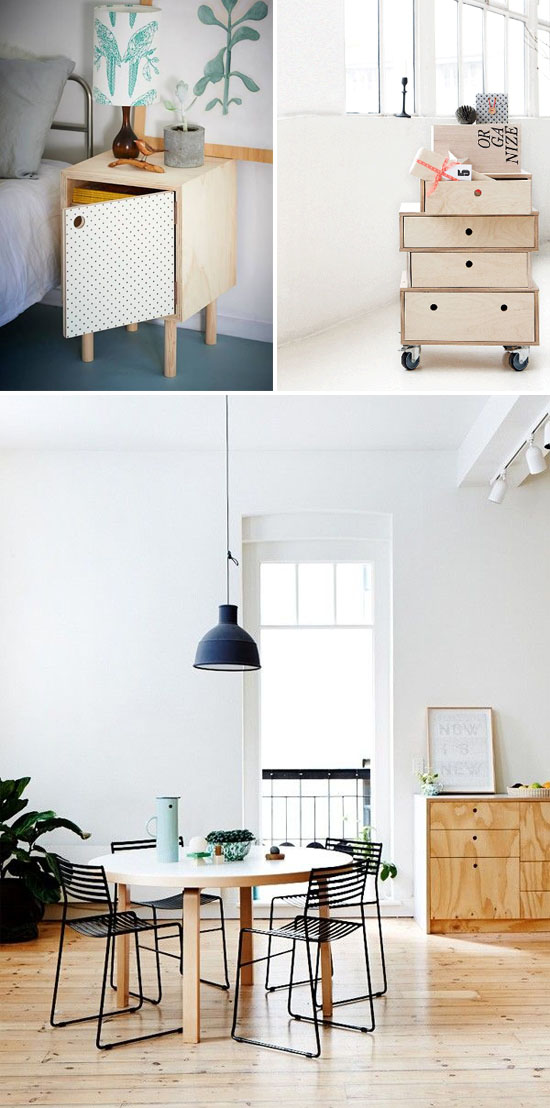 Circle cutout drawer pulls // At Home in Love