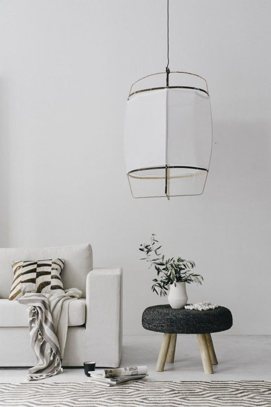 Airy cotton lamps