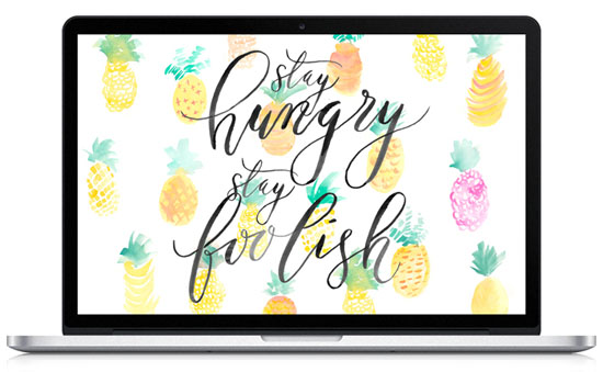Free downloadable desktop wallpaper by This Little Street and Coco + Mingo