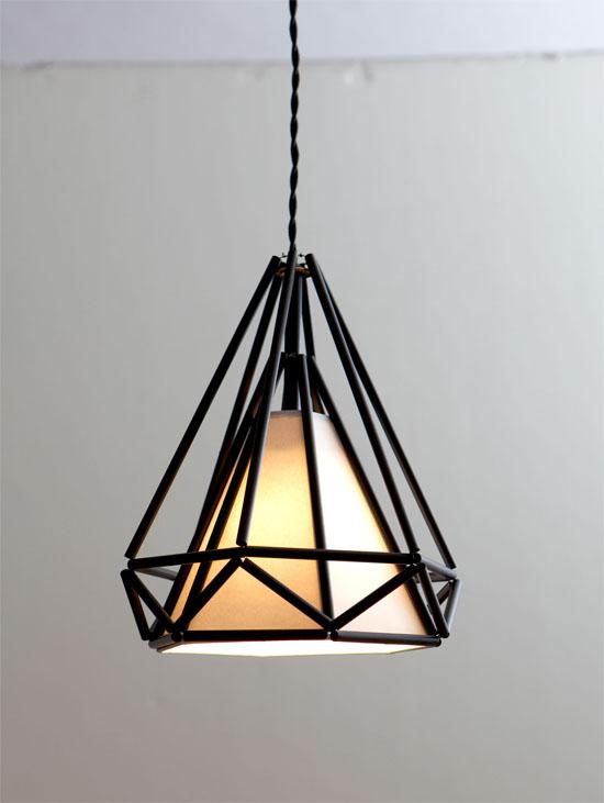 Gorgeous gem shaped light