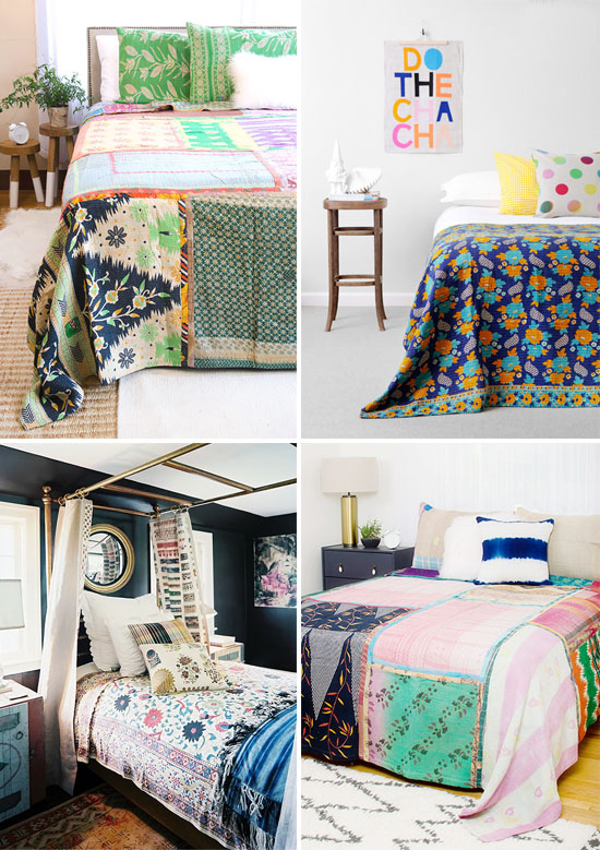 Trend to try: Kantha quilts